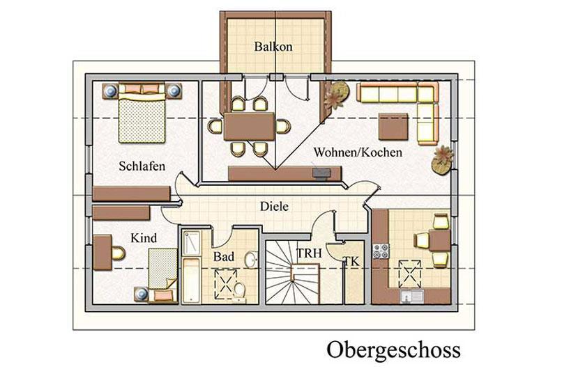 Baukonzept massivhaus in leipzig und karlsruhe bauen for Zweifamilienhaus bauen