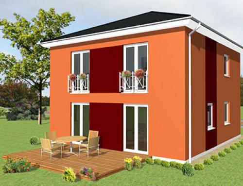 Massivhaus Stadtvilla Konzept V 100