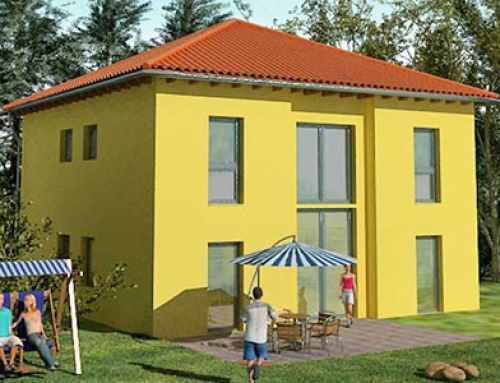 Massivhaus Stadtvilla Konzept V 200