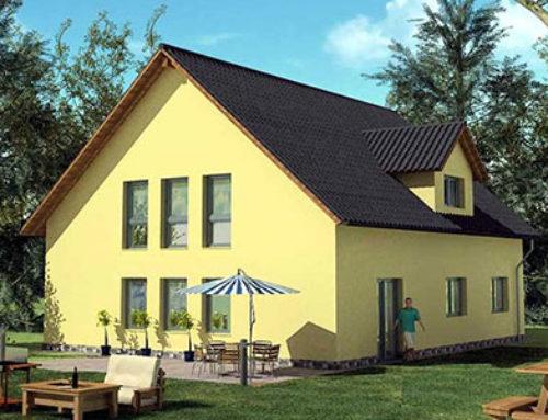 Massivhaus Zweifamilienhaus Konzept Z 110