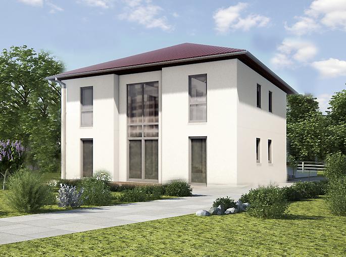 Massivhaus Stadtvilla Konzept V 220
