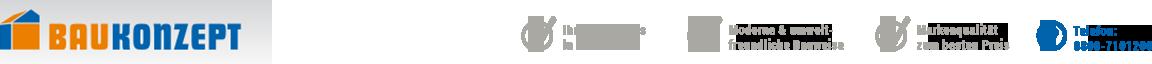 BAUKONZEPT – Massivhaus in Leipzig  und Karlsruhe bauen Logo