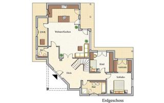 Konzept A 100 - Erdgeschoss