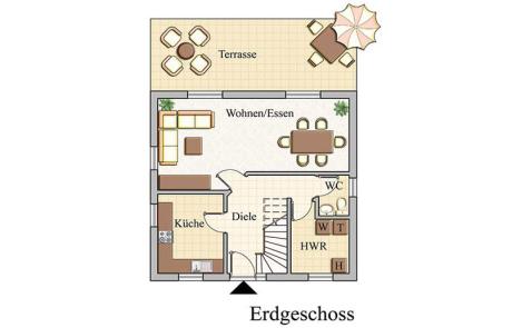 Erdgeschoss - Klassisch - Konzept E100