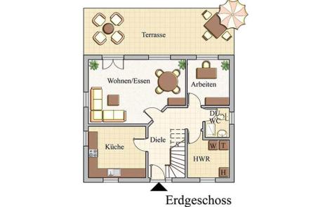 Erdgeschoss - Klassisch - Konzept E110