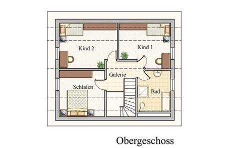 Obergeschoss - Klassisch - Konzept E110