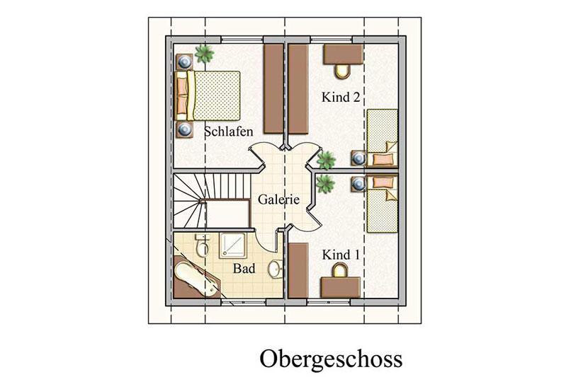 Obergeschoss - Klassisch - Konzept E 200