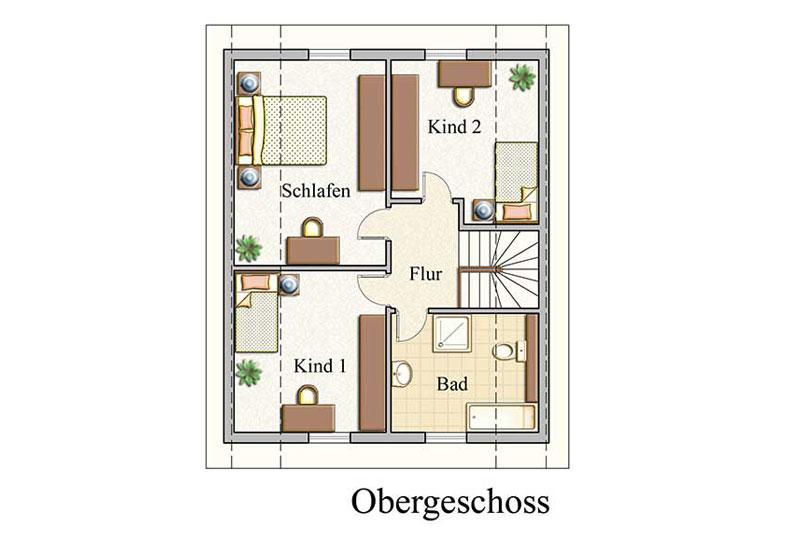 Obergeschoss - Klassisch - Konzept E210