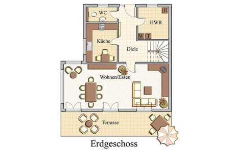 Erdgeschoss - Klassisch - Konzept E 300