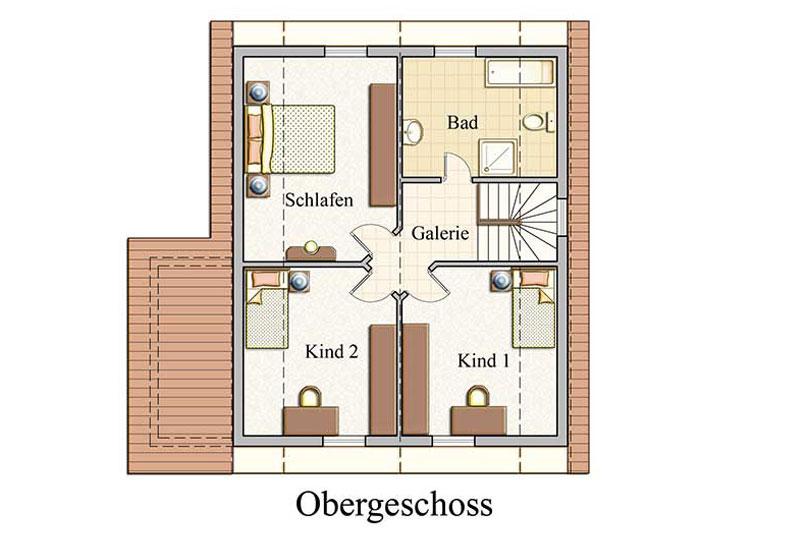 Obergeschoss - Klassisch - Konzept E 300
