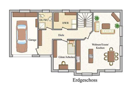 Erdgeschoss - Klassisch - Konzept E 530