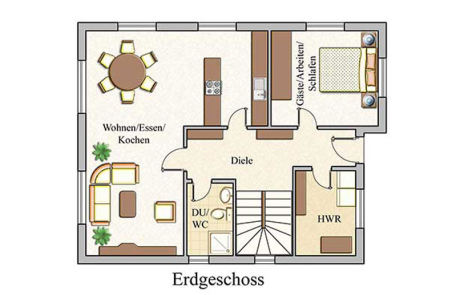 Erdgeschoss - Klassisch - Konzept E 550