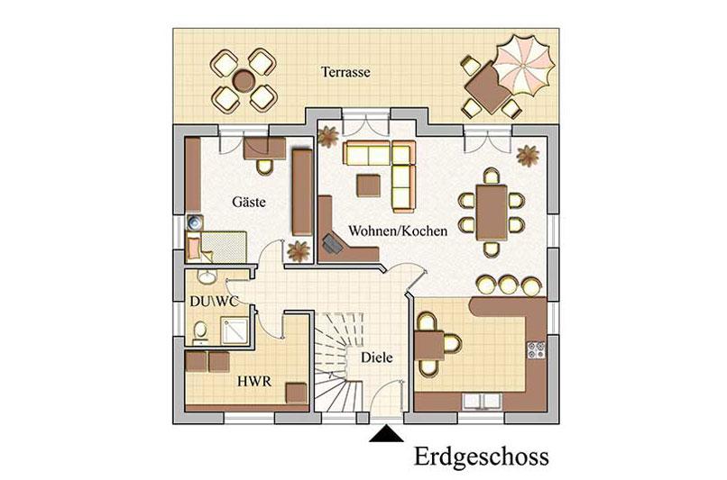 Erdgeschoss - Klassisch - Konzept E 600