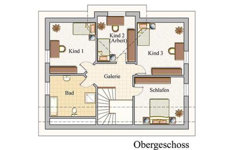 Obergeschoss - Klassisch - Konzept E 600
