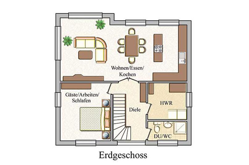 Erdgeschoss - Klassisch - Konzept E 700