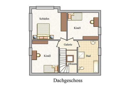 Obergeschoss - Klassisch - Konzept E 700